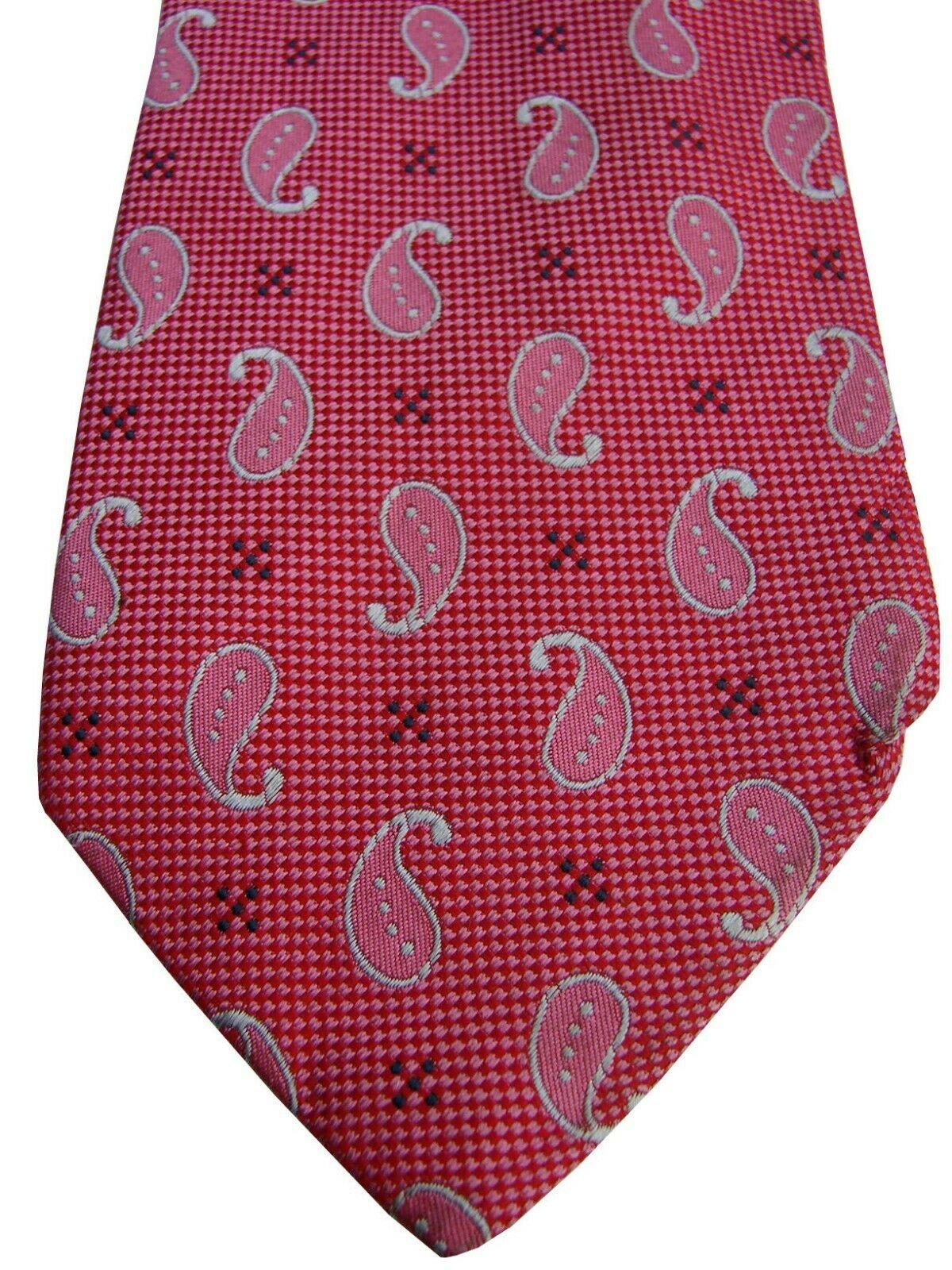 Austin Reed Mens Tie Pink Tear Drops Brandinity
