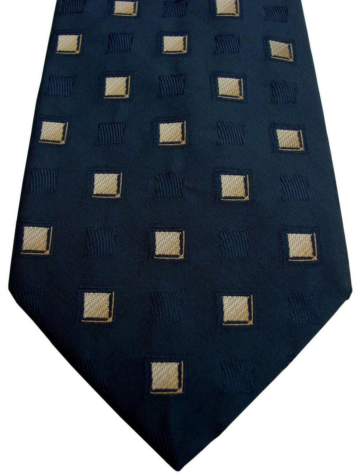 Austin Reed Mens Tie Blue Squares Brandinity