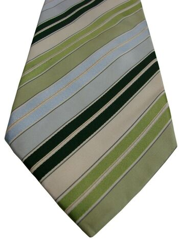 NEXT Mens Tie Multi-Coloured Stripes
