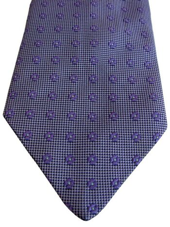 BODEN Mens Tie Lilac - Flowers
