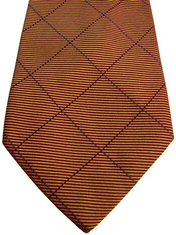 AUSTIN REED Tie Multi-Coloured Check