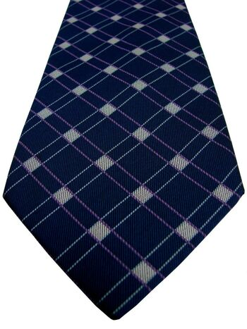 TM LEWIN Tie Blue – Pink & Blue Check
