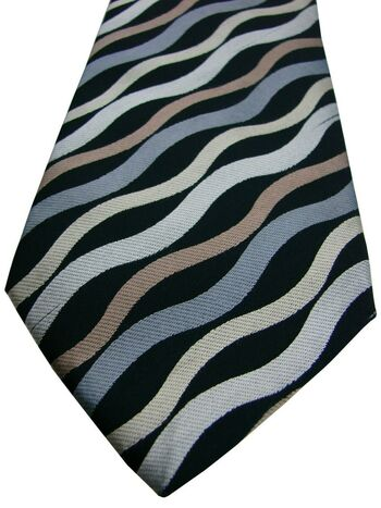TED BAKER ENDURANCE Mens Tie Multi-Coloured Swirls