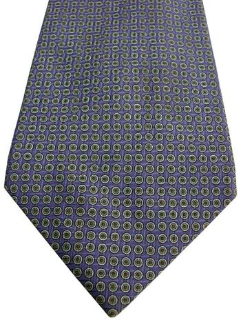 RALPH LAUREN POLO Mens Tie Purple – Green & Red Polka Dots
