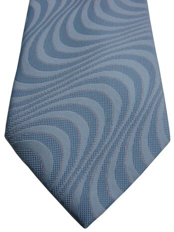 BERND BENIOFF EXCLUSIVE Tie Blue Waves