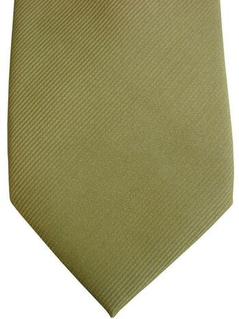 GUASCH Tie Yellowy Green SKINNY NEW BNWT