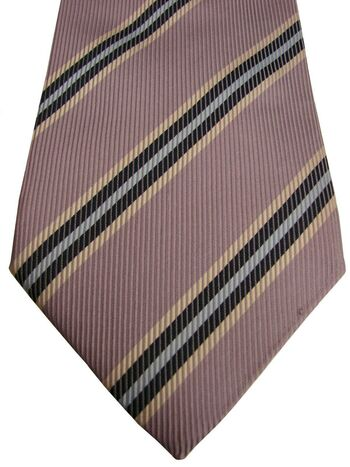 GANT USA Tie Lilac Grey - Stripes