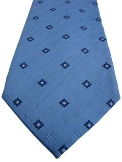 HAWES & CURTIS Mens Tie Blue – White Squares