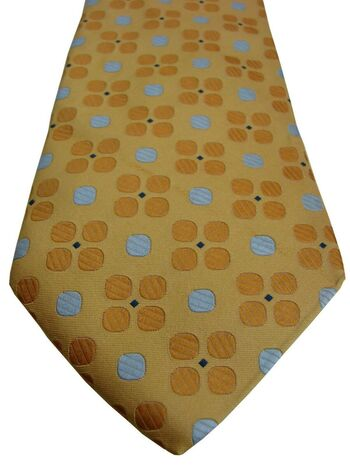 PROFUOMO Tie Yellow – Polka Dots