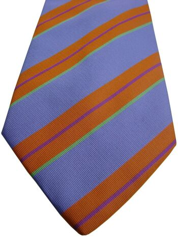 GANT Mens Tie Lilac – Multi-Coloured Stripes