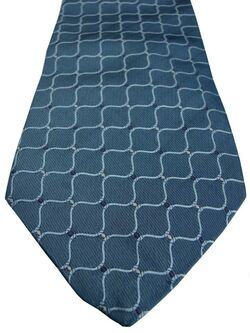PROFUOMO Tie Blue – Waves & Polka Dots