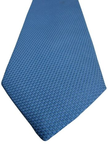 CHARLES TYRWHITT Tie Blue TEXTURED NEW