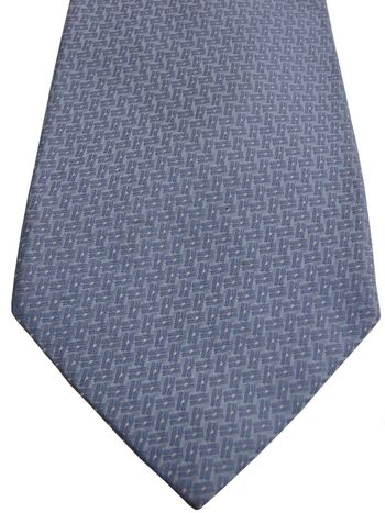 BROOKS BROTHERS Mens Tie Blue - Rectangles