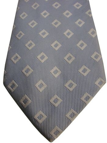 TM LEWIN Mens Tie Blue – White Squares