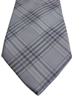 ANDREWS TIES Mens Tie Light Lilac - Check