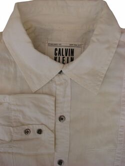 CALVIN KLEIN Shirt Mens 16 S White – Eagle Snake