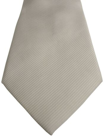 RACING GREEN Tie White - Diagonal Lines NEW
