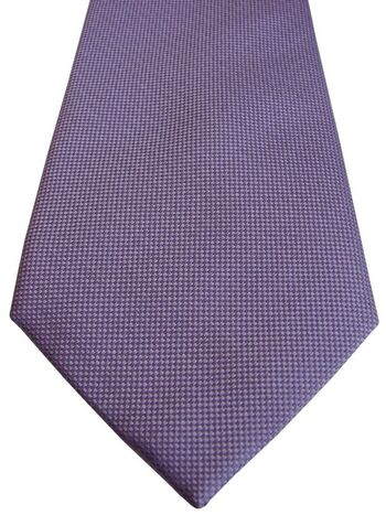 TM LEWIN Mens Tie Lilac NEW BNWT