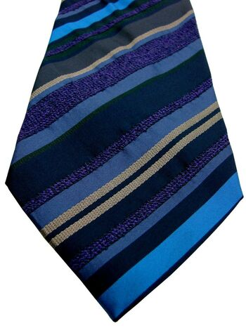 ETRO Mens Tie Multi-Coloured Stripes
