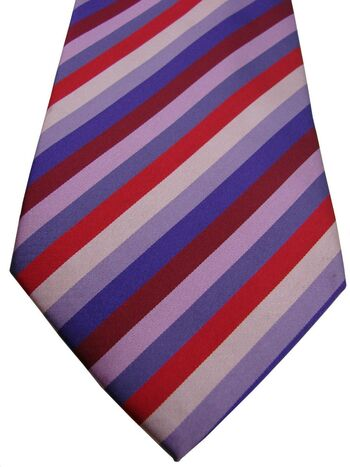 AUSTIN REED Mens Tie Multi-Coloured Stripes