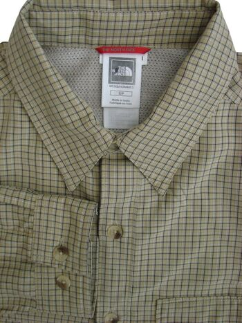THE NORTH FACE Shirt Mens 15.5 S Multi-Coloured Check