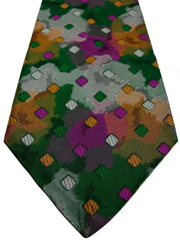 MISSONI Mens Tie Multi-Coloured Splodges