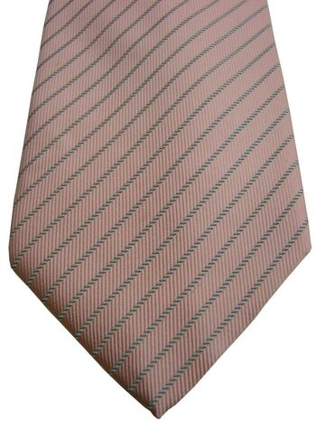 BURBERRY Mens Tie Pink - Stripes