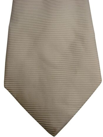 DUCHAMP LONDON Mens Tie White Ribbed NEW