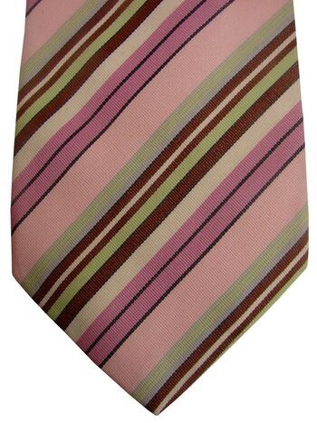 PAUL SMITH Mens Tie Multi-Coloured Stripes