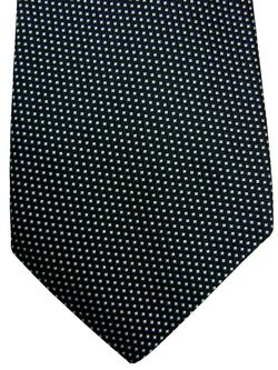 HUGO BOSS Tie Black - White Mini Squares